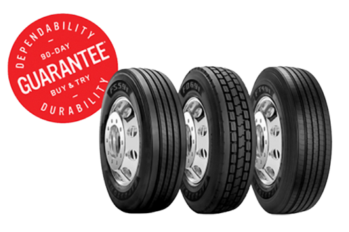 Buy and Try Semi Tires