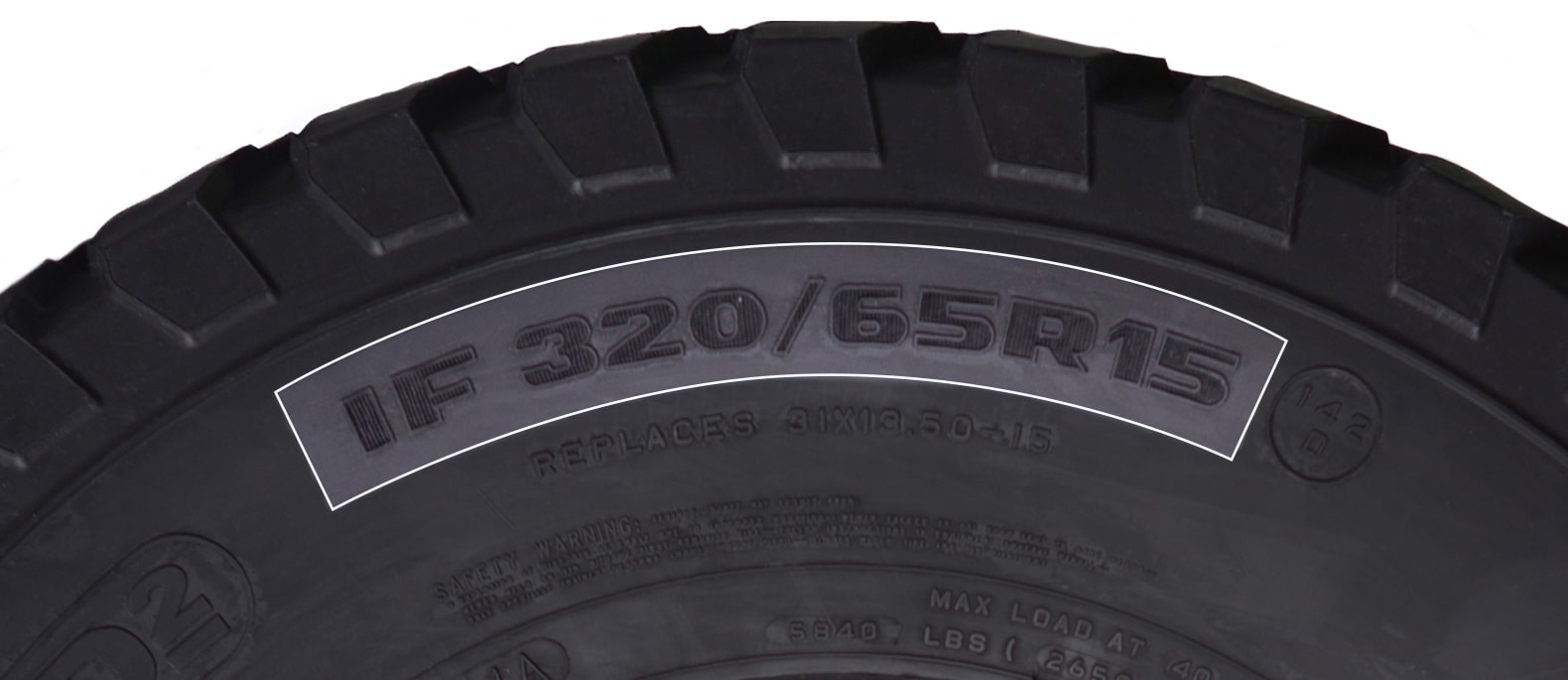1. Tire Size