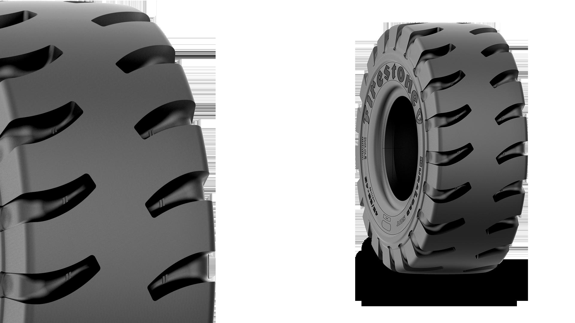 Duraload deep tread tire firestone commercial - Tire tread wallpaper ...