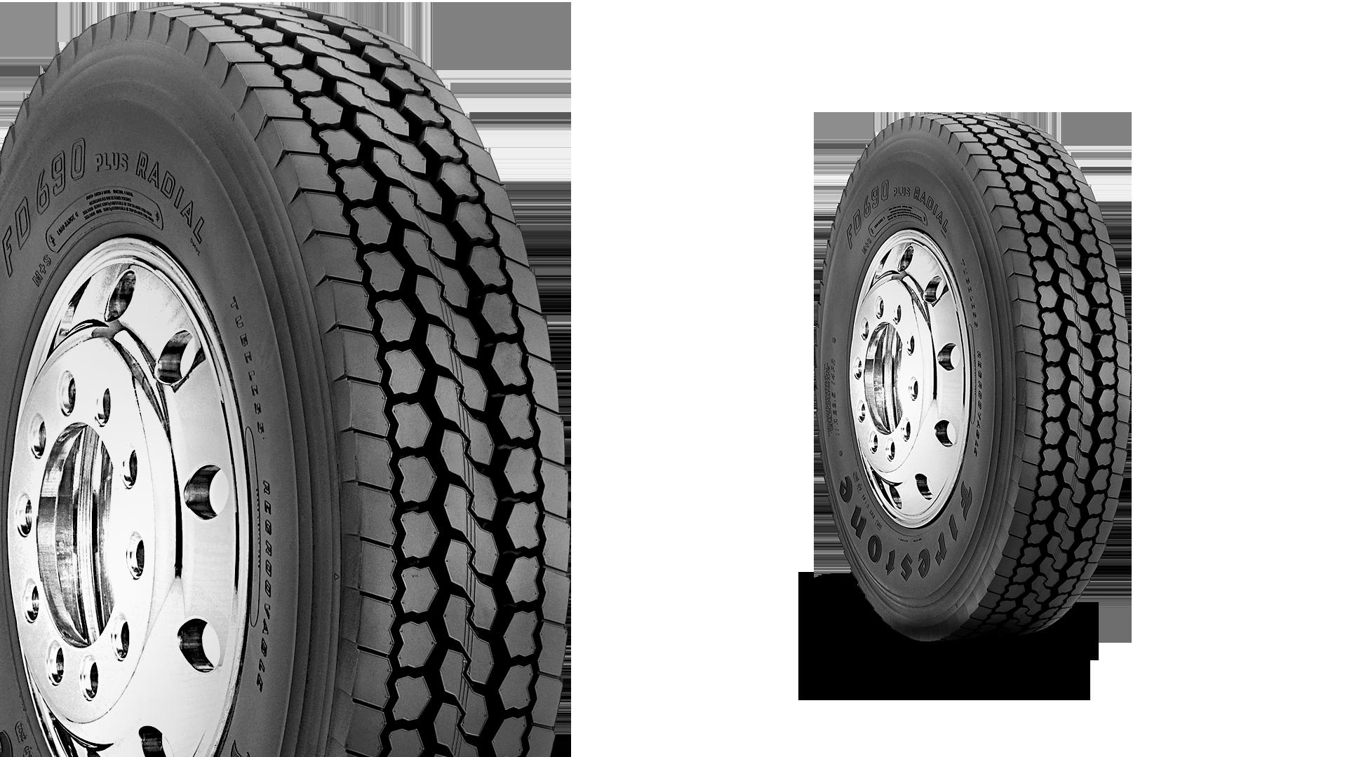 FD690 Plus Transport Distribution & Truckload Tire
