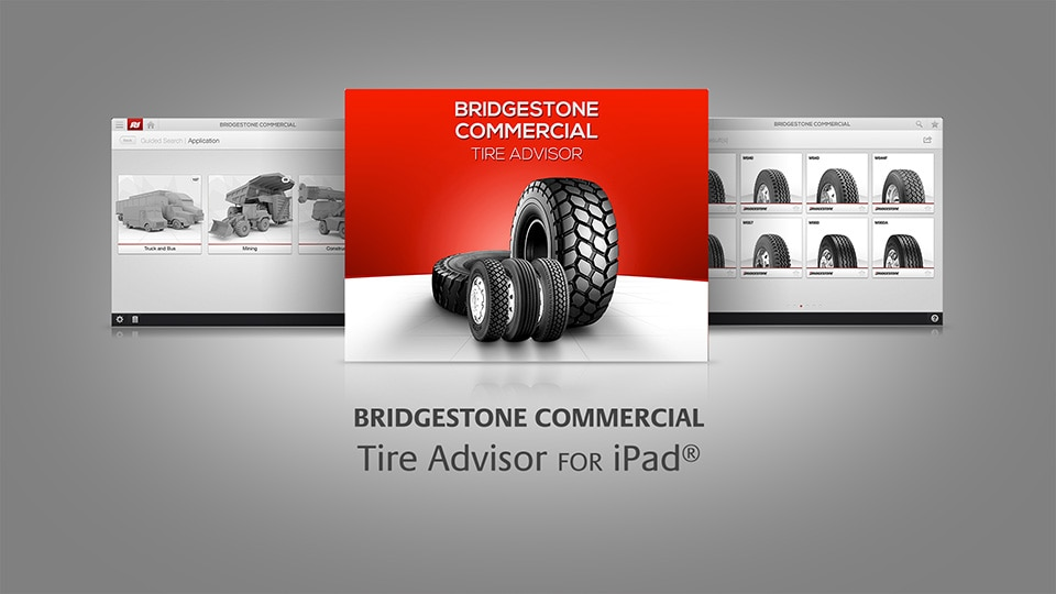 APPLICATION TIRE ADVISOR POUR IPAD