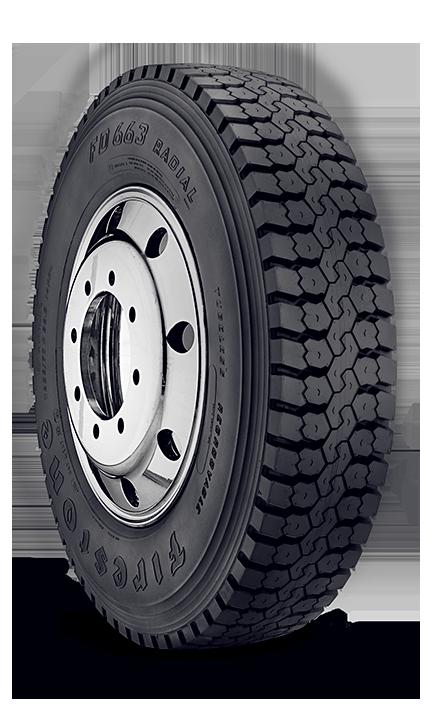 Fd663 Truckload Distribution Tire Firestone Commercial