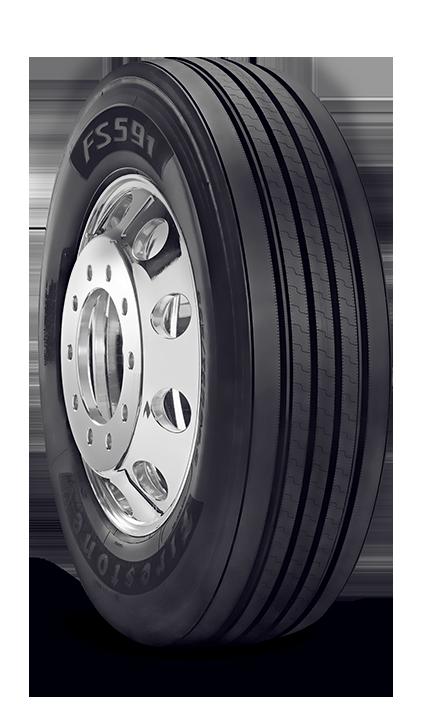 Firestone Tire Warranty >> FS591 - 295/75R22.5 All Position Tire - Firestone Commercial