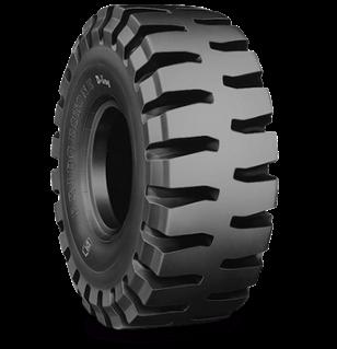 Características especializadas del neumático DL LD