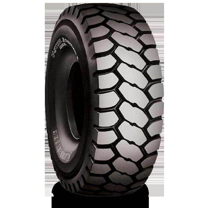 Características especializadas del neumático VZTS