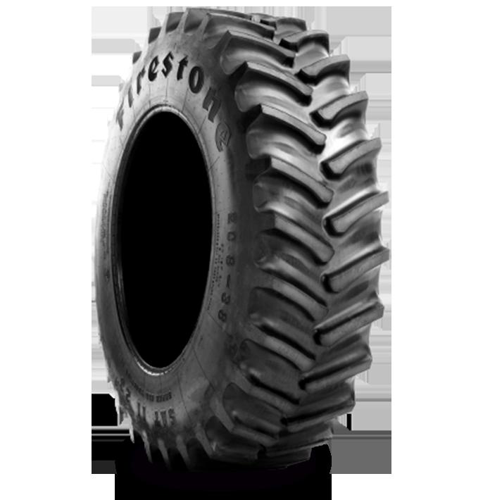 Características especializadas del neumático SUPER ALL TRACTION™ II 23°
