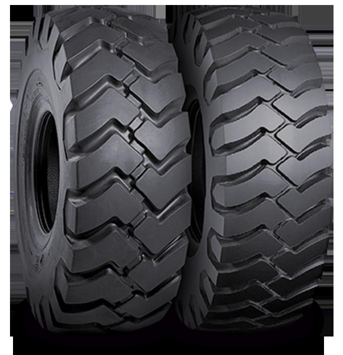 Características especializadas del neumático SRG LD