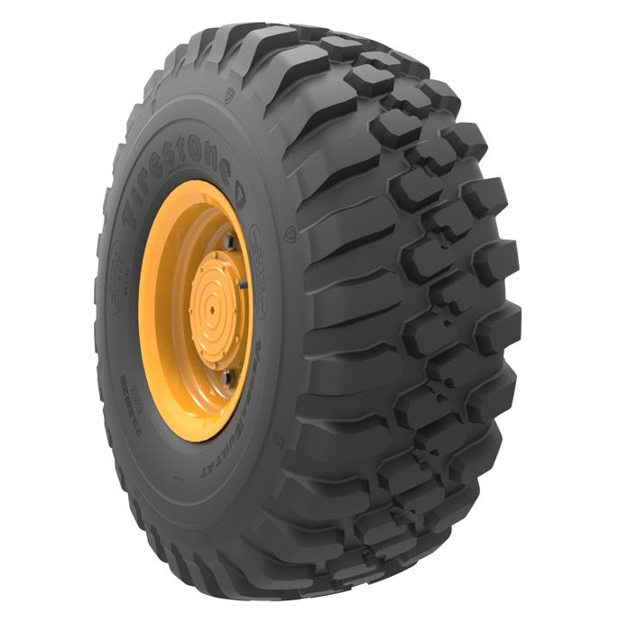 Caractéristiques spécialisées du pneu polyvalent<br><i><span>(G2/L2)</span></i> VersaBuilt™