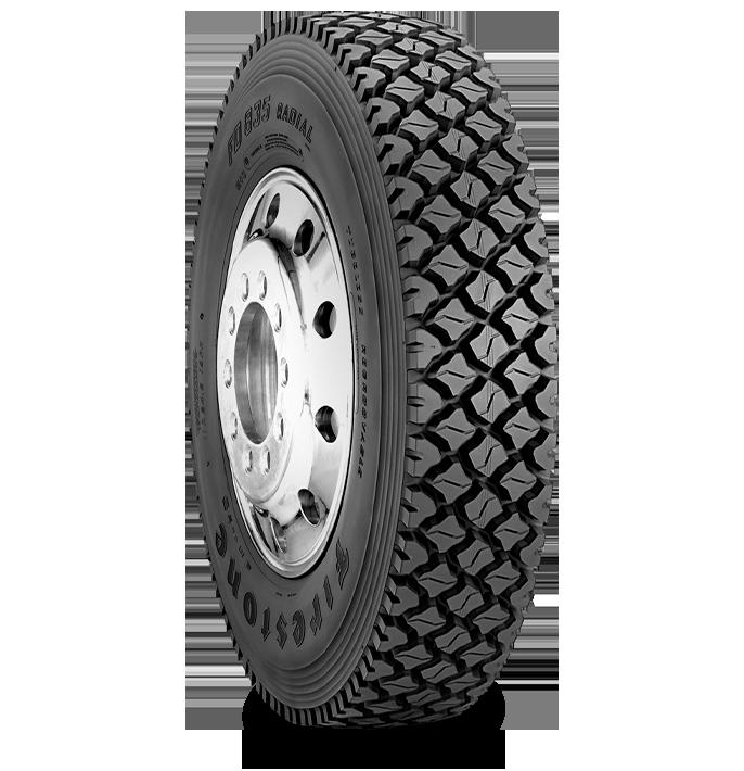 Caractéristiques spécialisées du pneu FD835