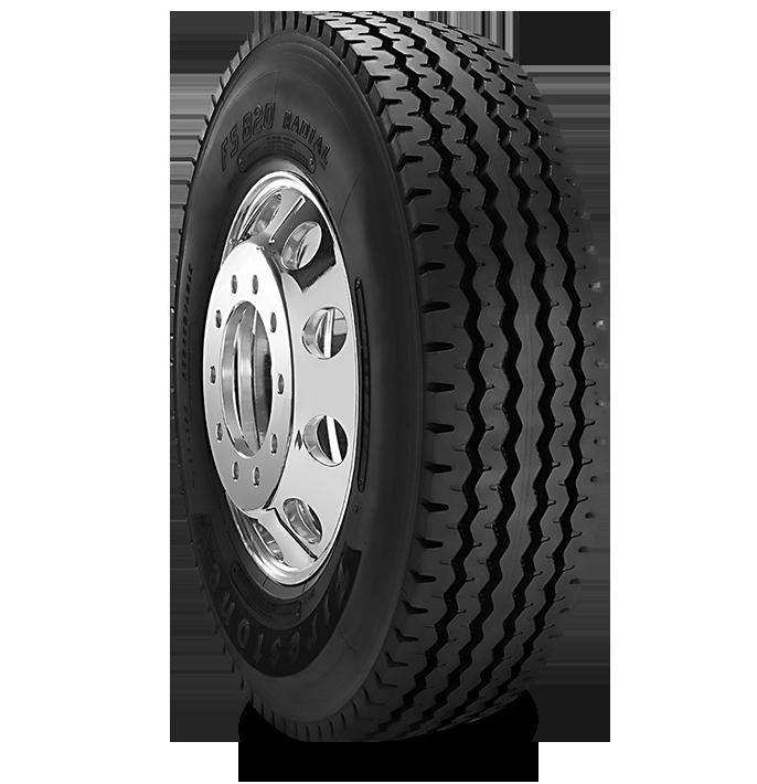 Caractéristiques spécialisées du pneu FS820™